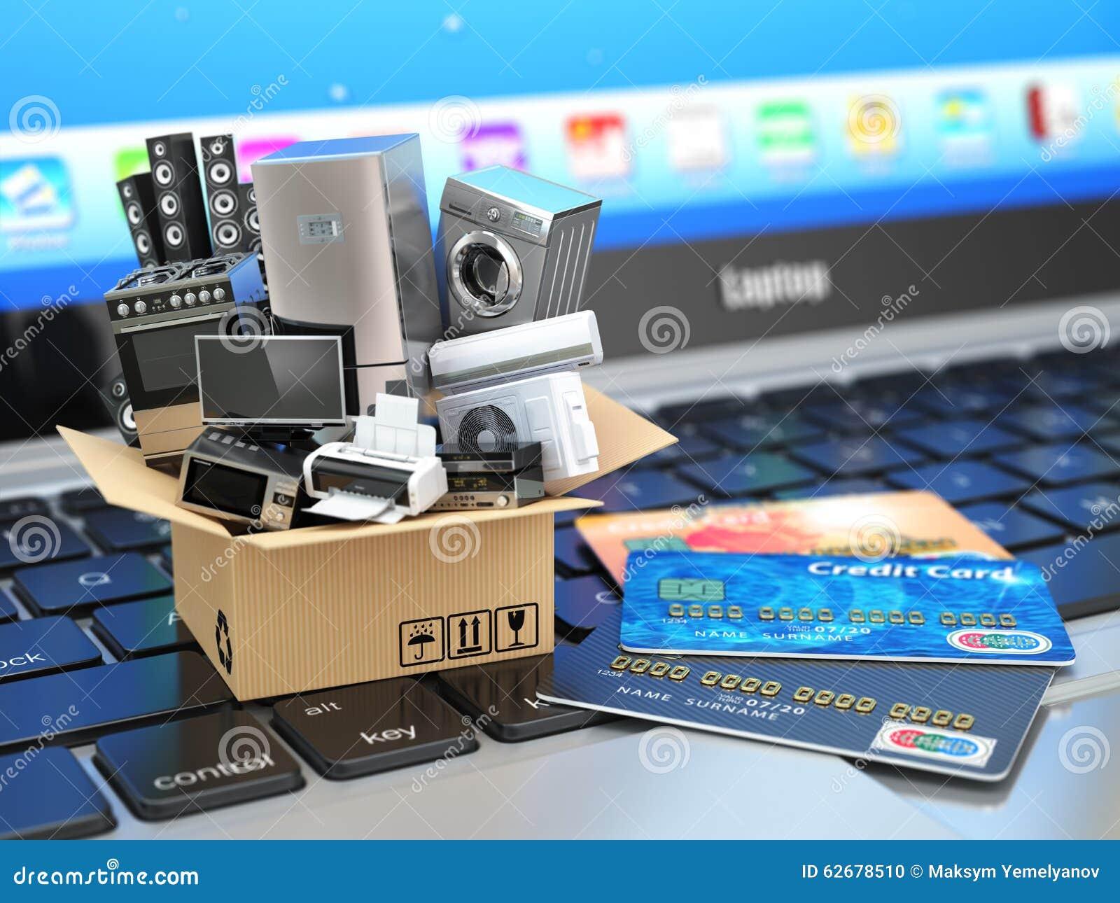 Commerce électronique ou concept en ligne d achats ou de livraison