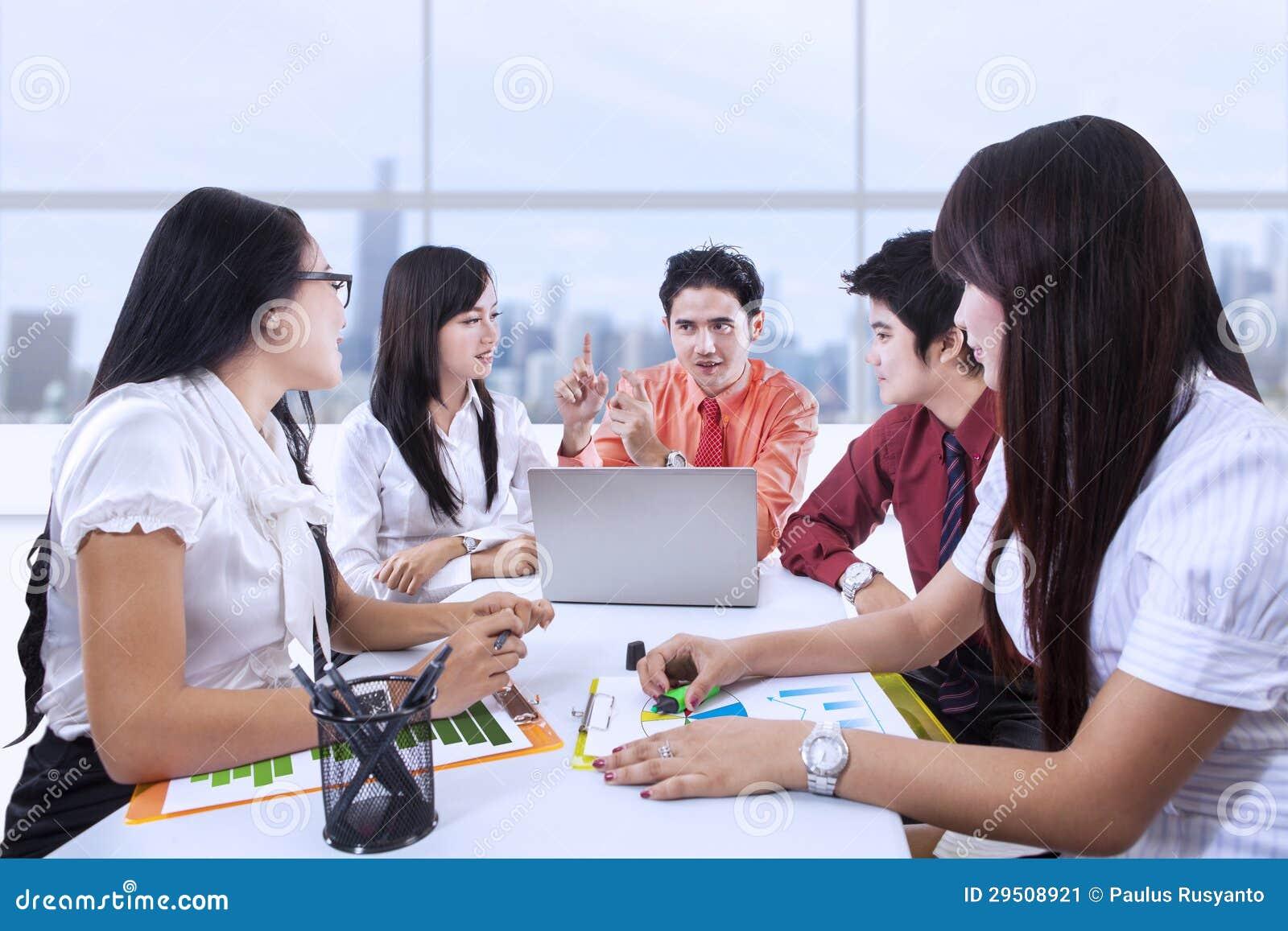 Commerciële teamvergadering