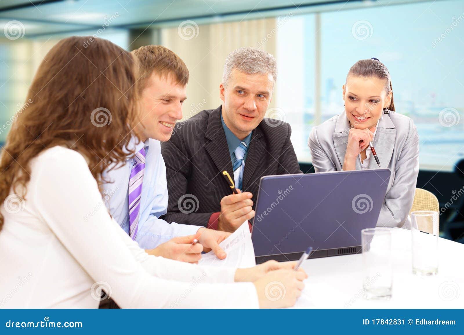Commerciële vergadering - manager