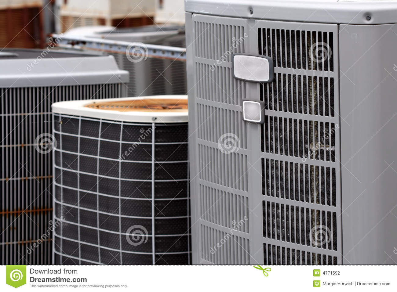 Commercial Air Conditioners Stock Photography Image: 4771592 #887643