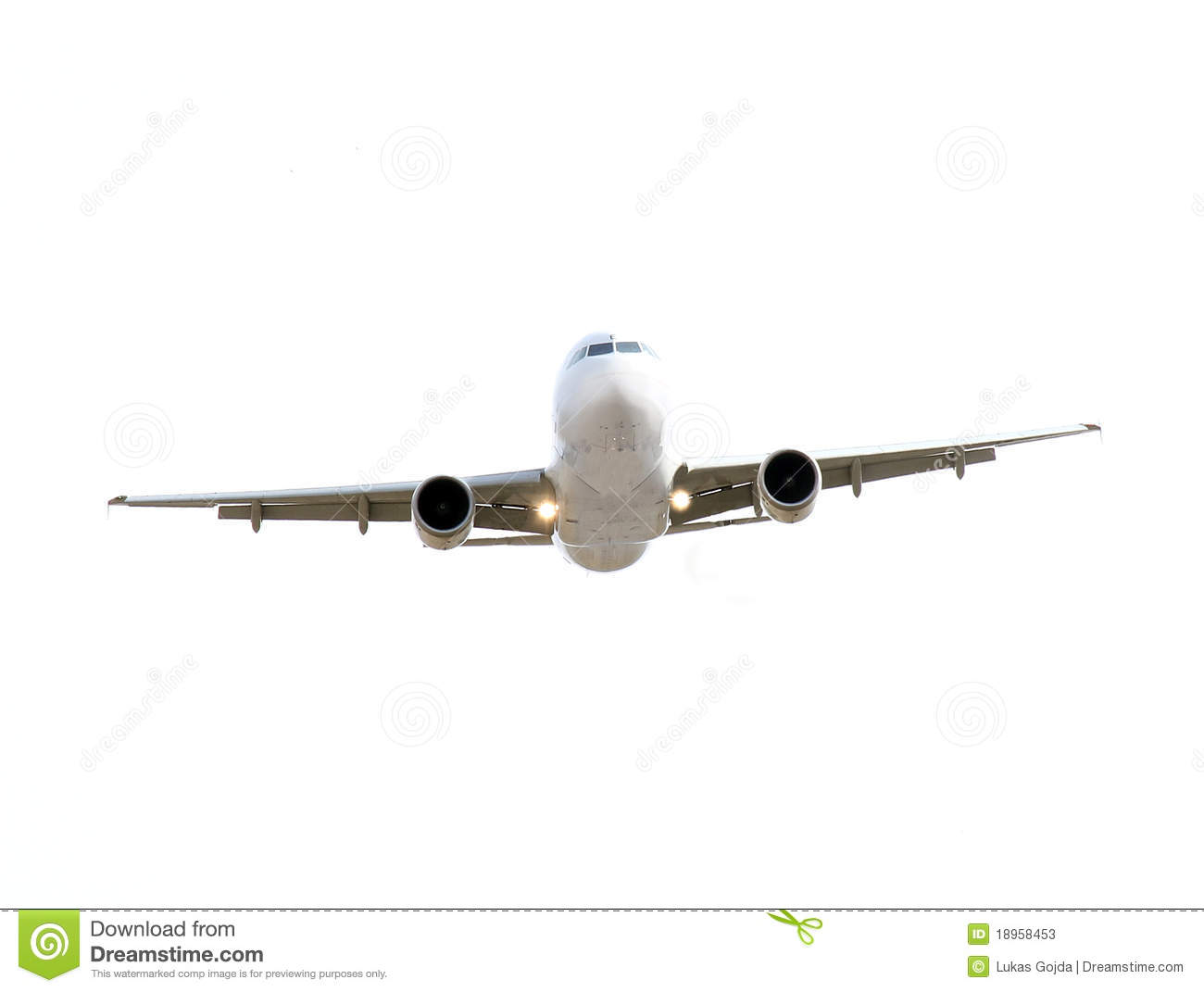 Commercial Airplane Stock Photos - Image: 18958453
