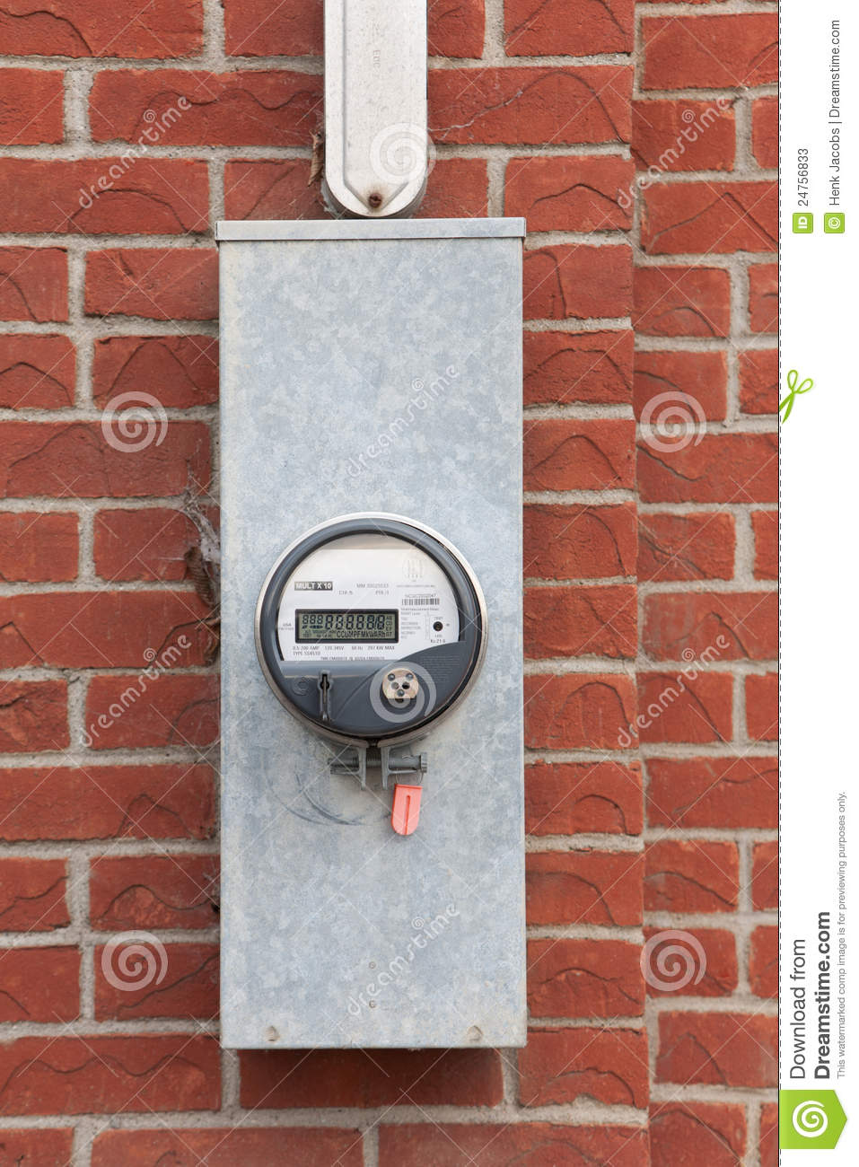 Commercial Bi-Directional TOU Hydro Meter