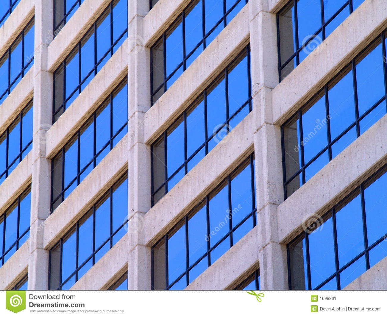 Commercial building windows stock image image 1098861 for Commercial windows