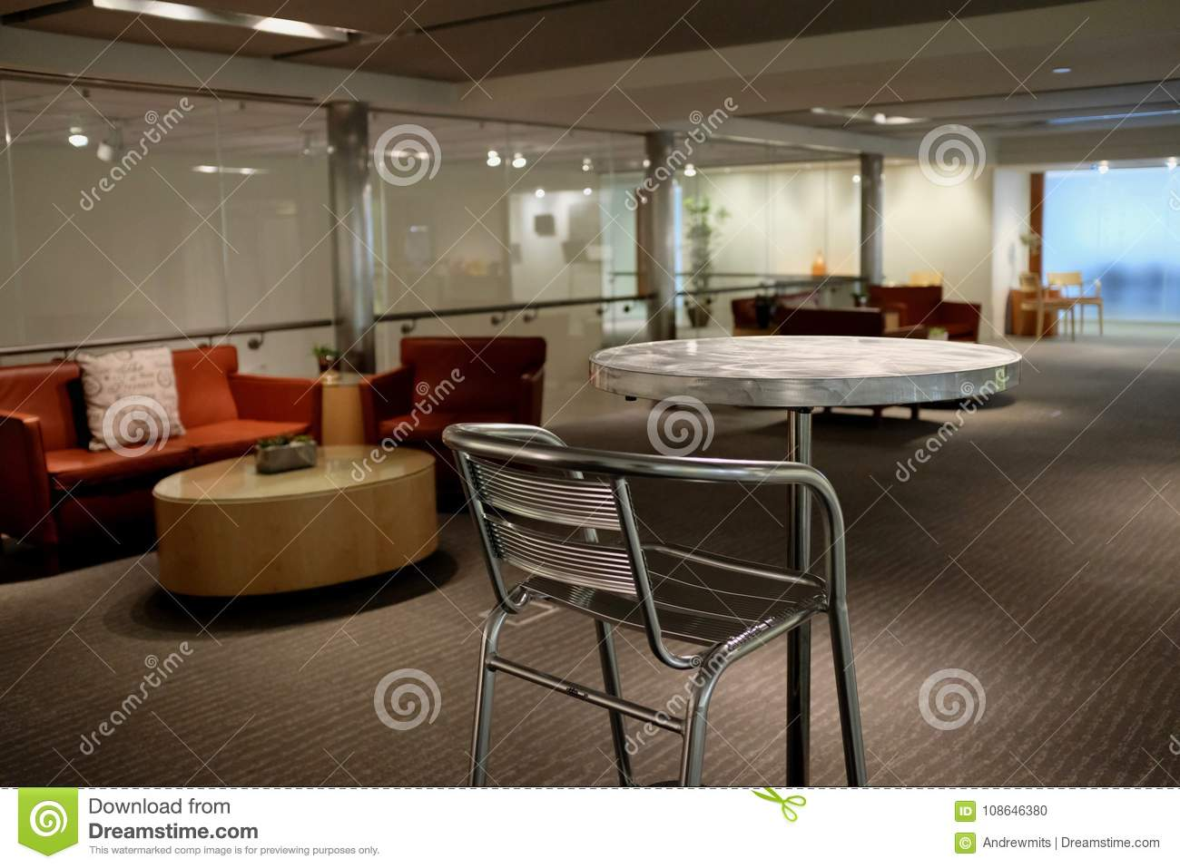 Astonishing Commercial Business Lobby Waiting Area Stock Photo Image Pdpeps Interior Chair Design Pdpepsorg