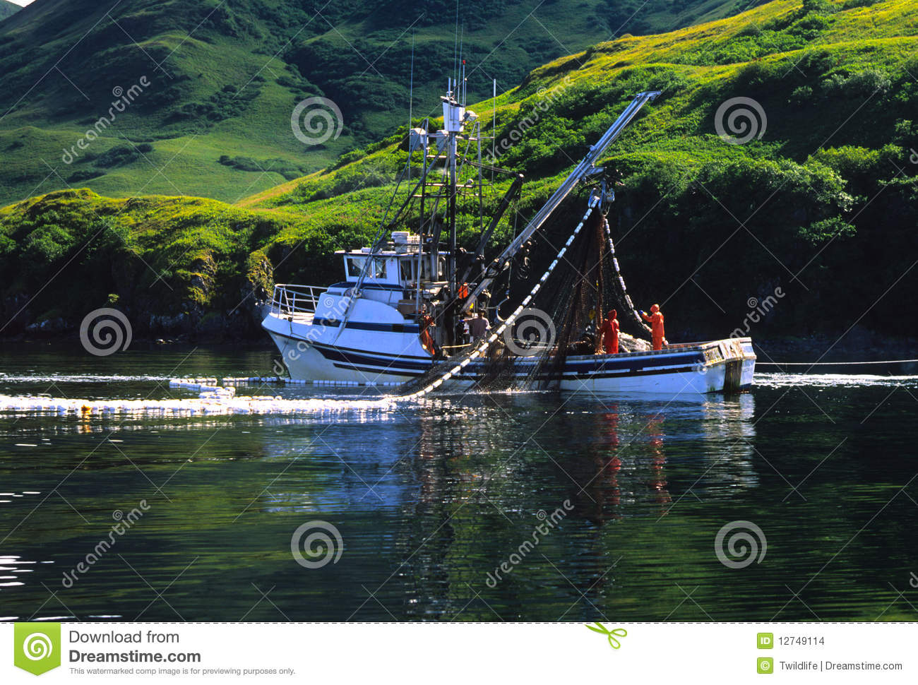 Commercial fishing boat stock images image 12749114 for What is commercial fishing