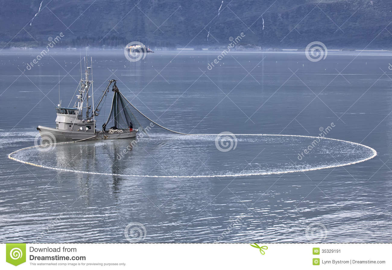Commercial Fishing Boat Stock Image Image Of Harbor
