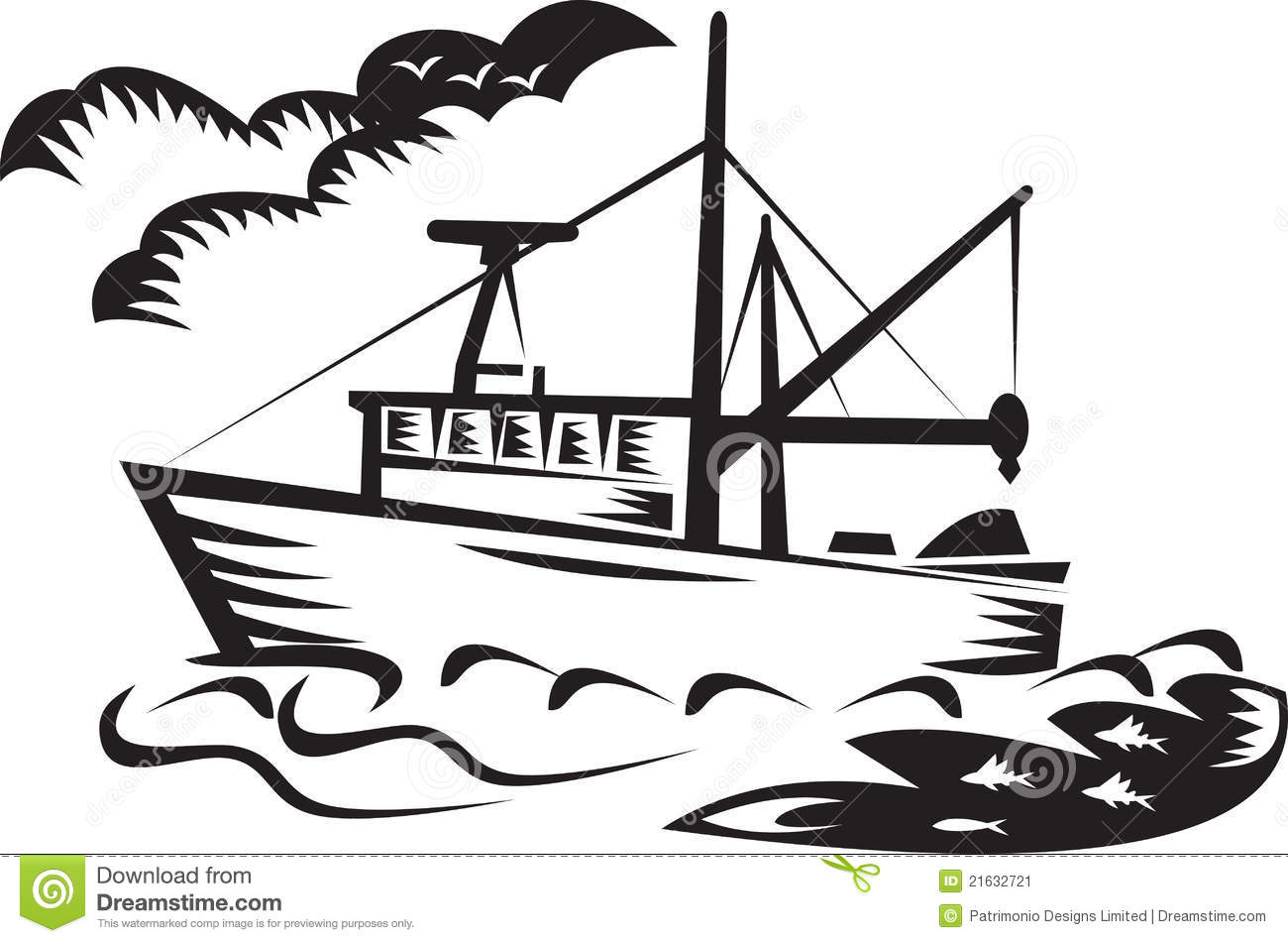 Nautical Clipart Black And White Ship Black And White