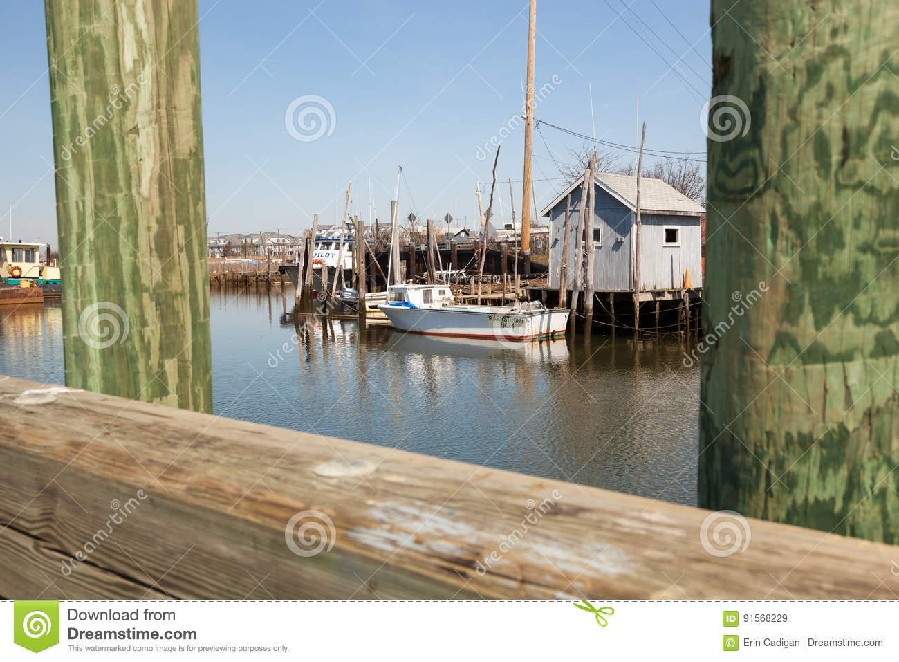 Commercial fishing boats in belford new jersey editorial for Nj fishing license 2017