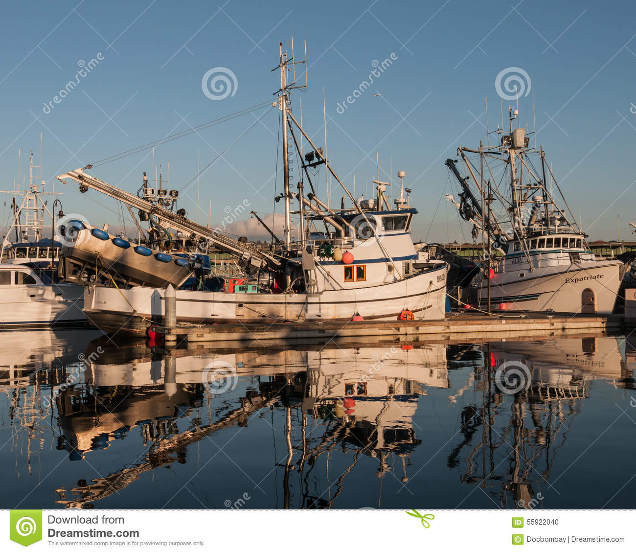 Commercial Fishing Boats Editorial Image Image 55922040