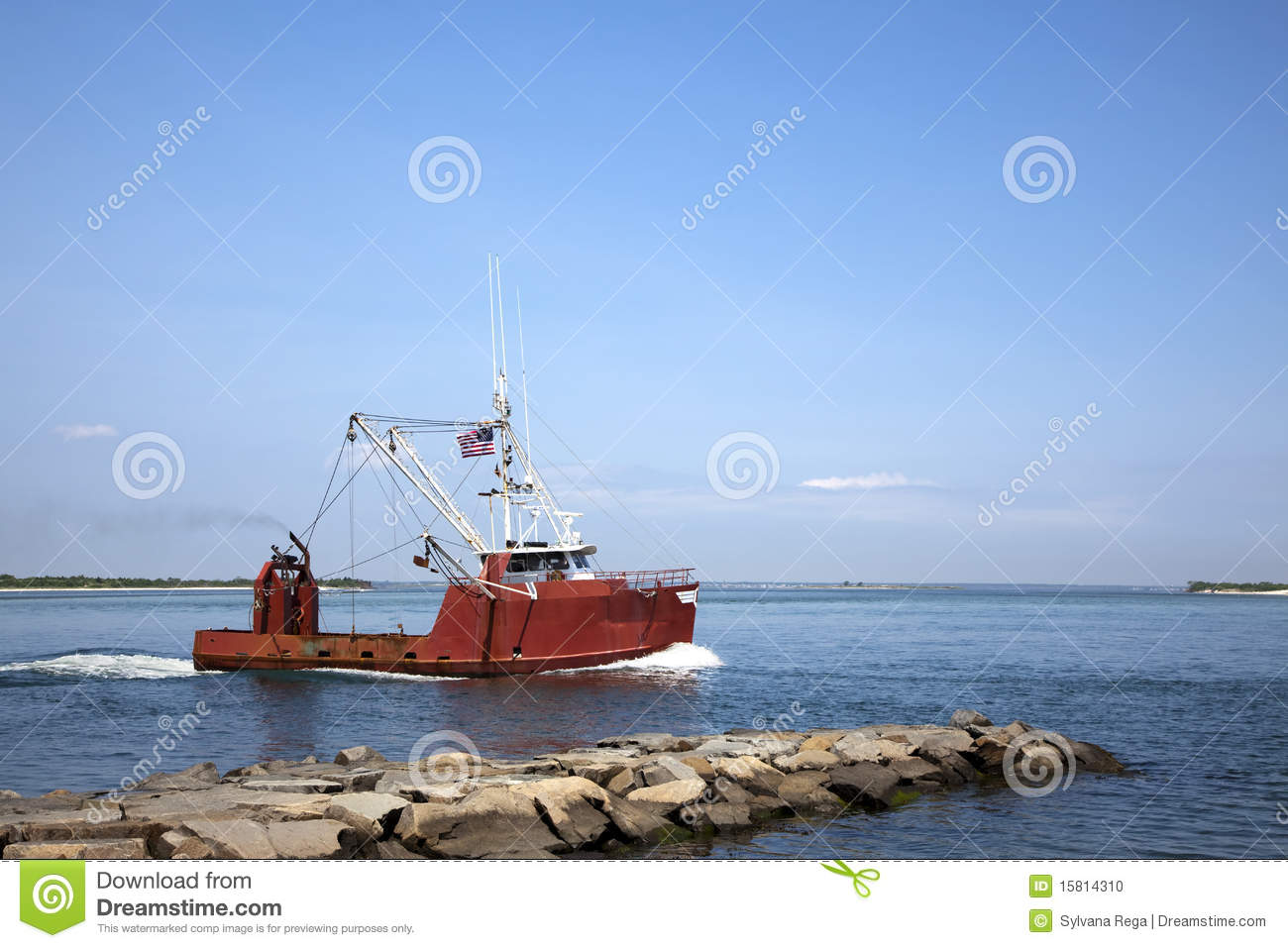 Commercial fishing vessel stock photo image of industry for What is commercial fishing