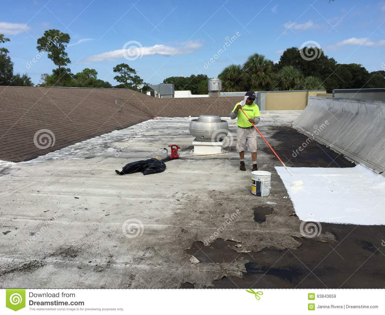 Commercial Flat Roof Leak Repairs; Roofer,