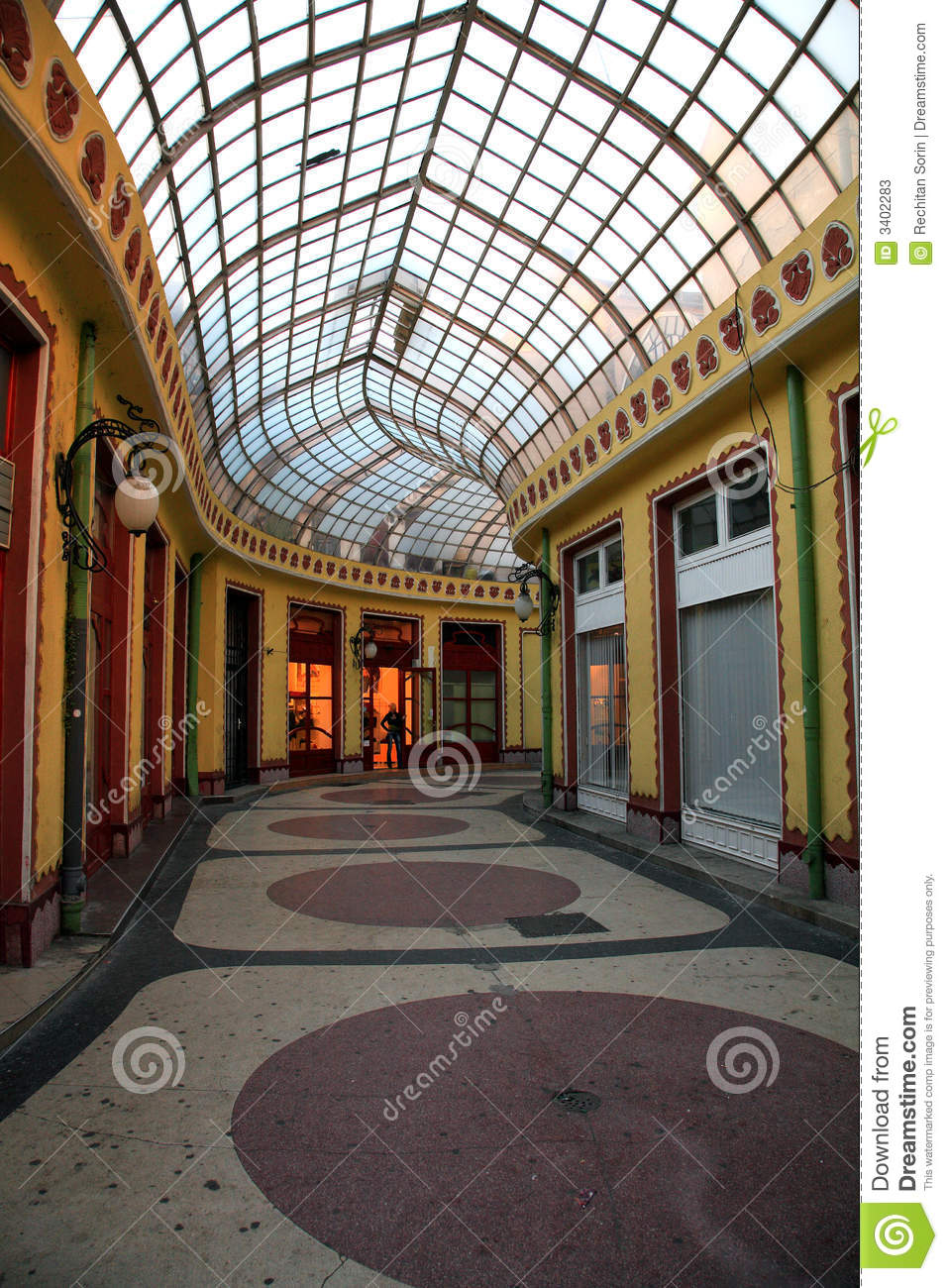 Commercial gallery stock image image of buiding - Galeria comercial ...