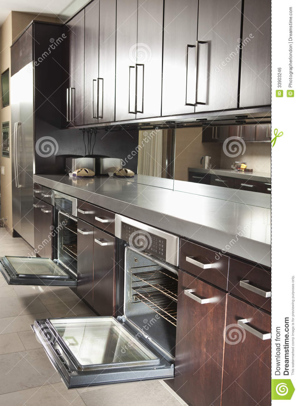 open cabinet kitchen kitchen with open oven and cabinets stock photo 1198
