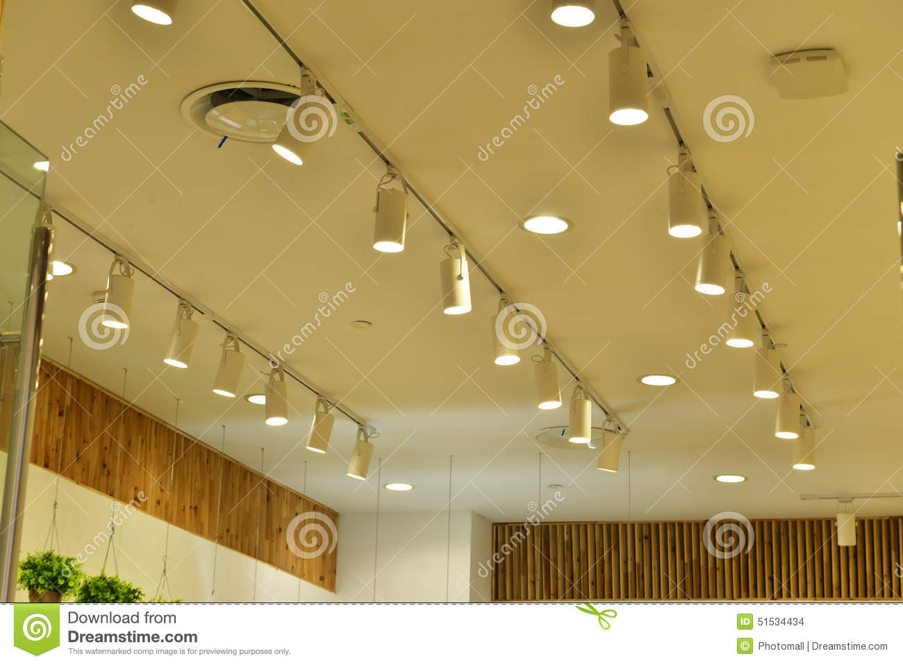 Commercial Led Light Stock Photo Image Of Chandelier 51534434
