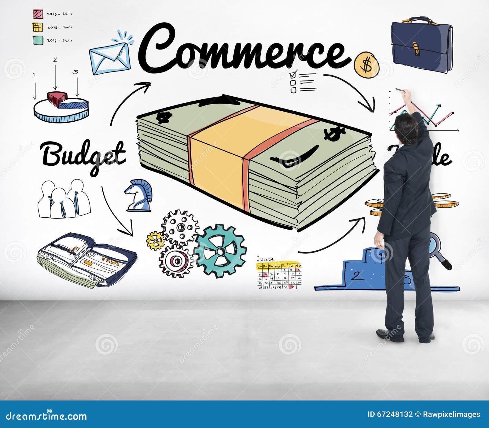 Commercial Market Retail Exchange Customer Concept Commercial Market Retail Exchange Customrer Concept