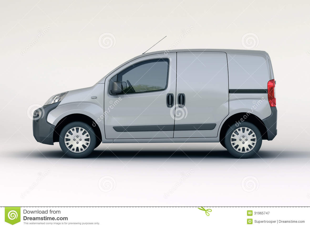 Commercial Vehicle Royalty Free Stock Photography - Image: 31965747