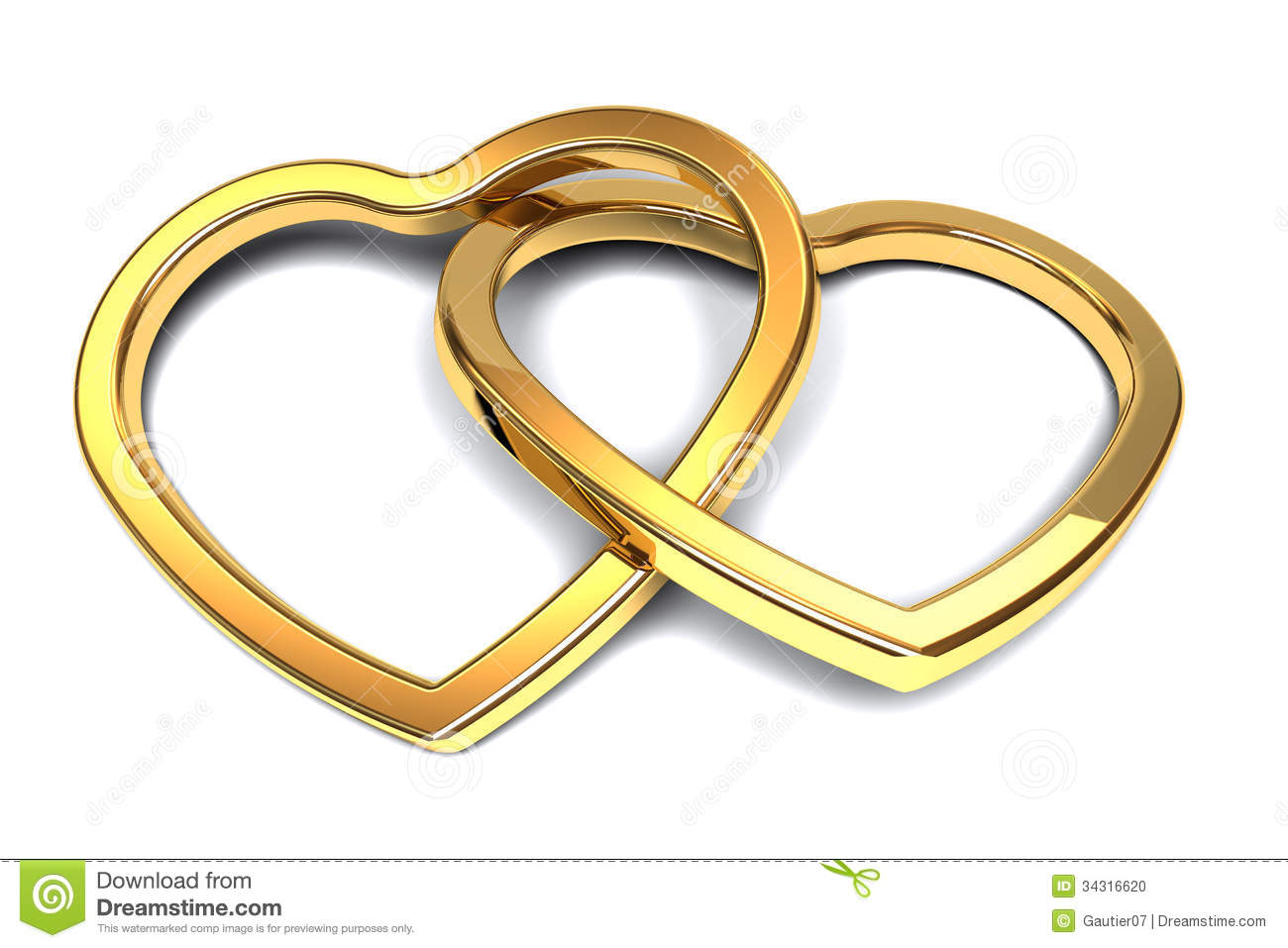 Committed Hearts Stock Photo - Image: 34316620