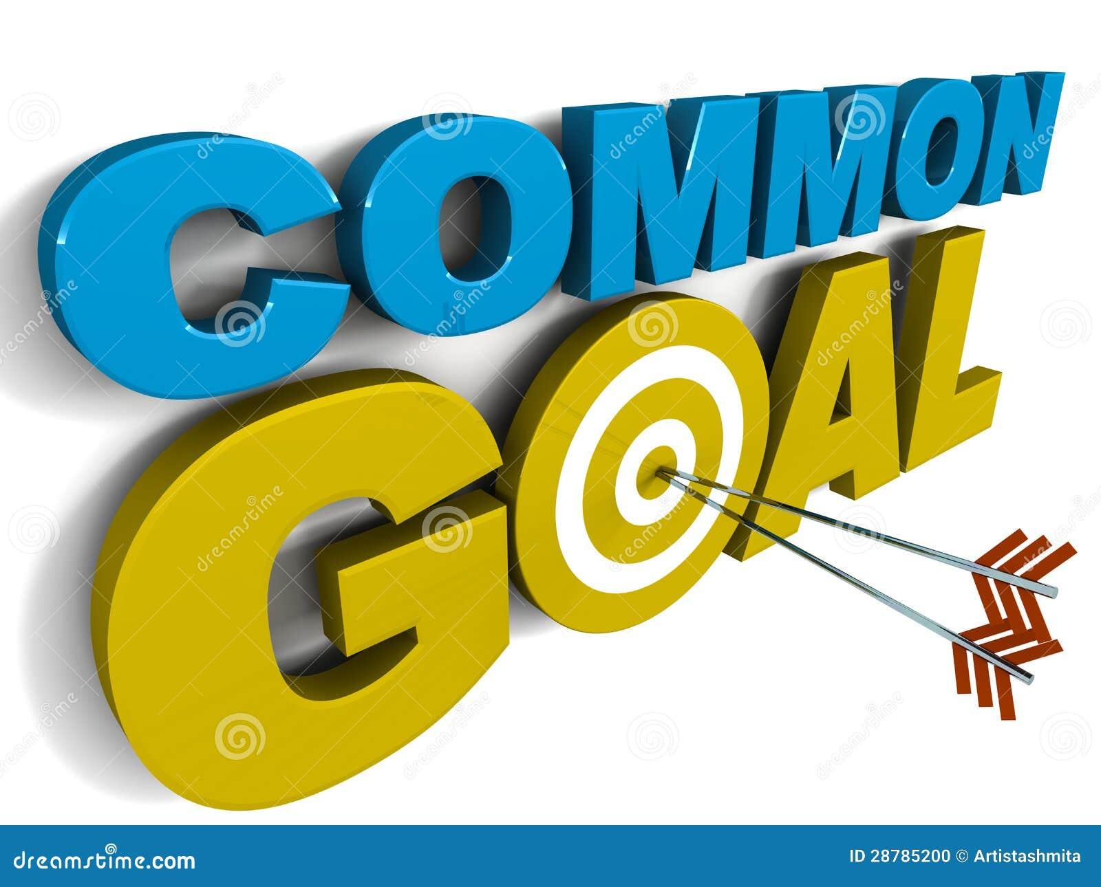 Common Goal Stock Illustration Image Of Goal Achieved