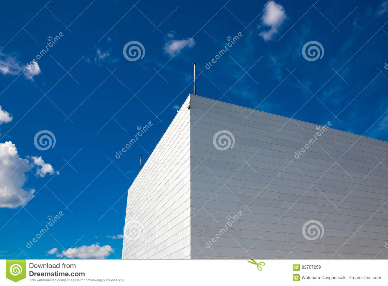 Common Modern Business Skyscrapers, High-rise Buildings Stock Photo