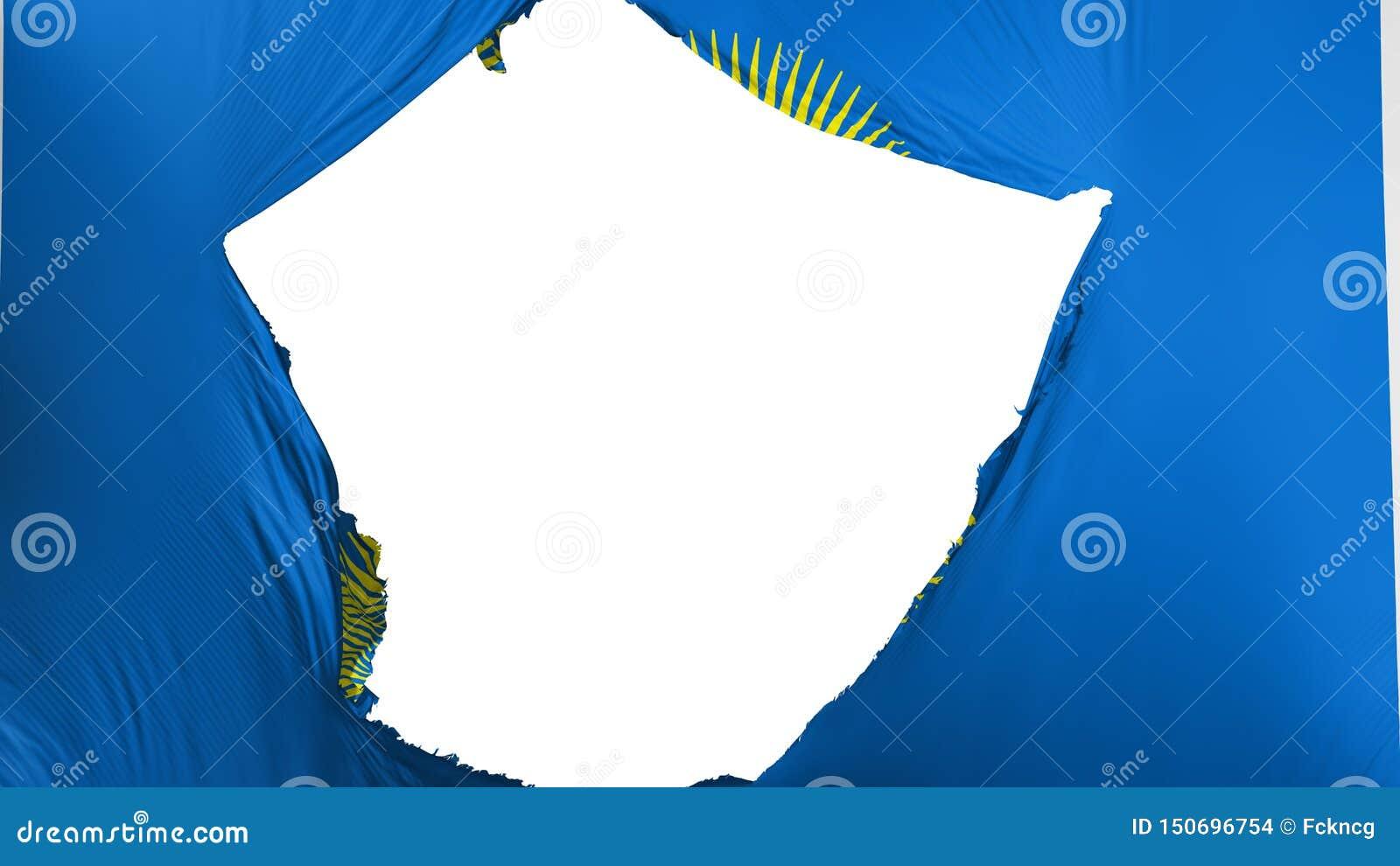 Commonwealth criqué de drapeau de nations