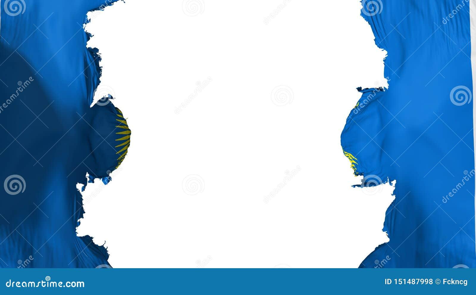 Commonwealth soufflé de drapeau de nations