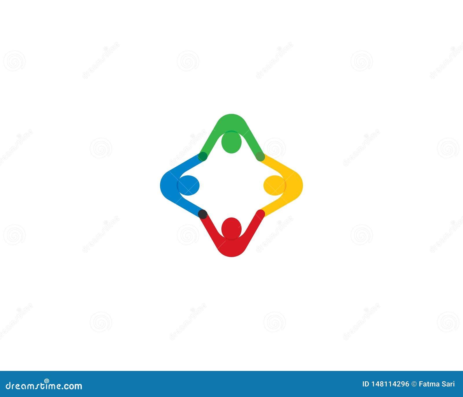 Communautaire symboolillustratie