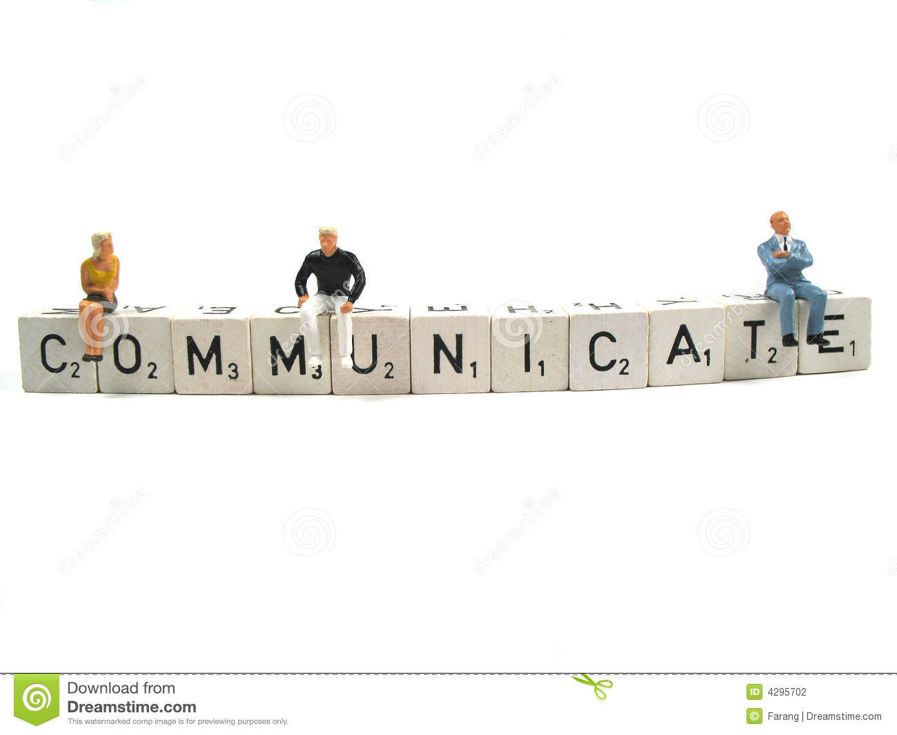 Communicate Stock Photography Image 4295702