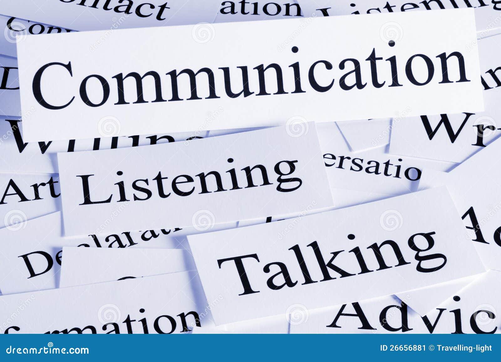 Communicatie Concept