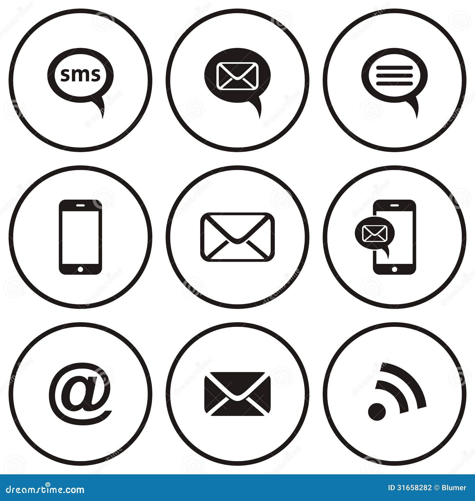 Communicatie pictogrammen