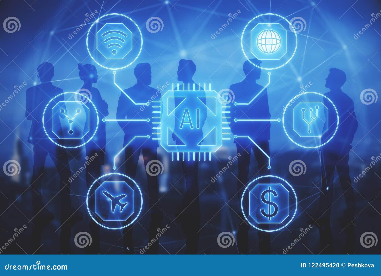 Communication, AI et futur concept