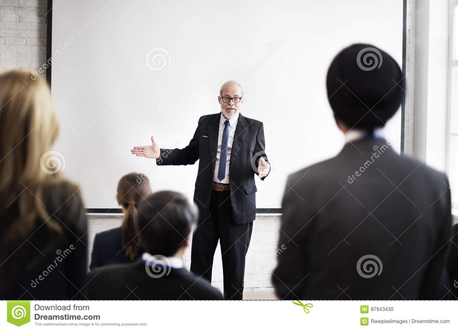 Communication Conference Meeting Presentation Seminar Concept