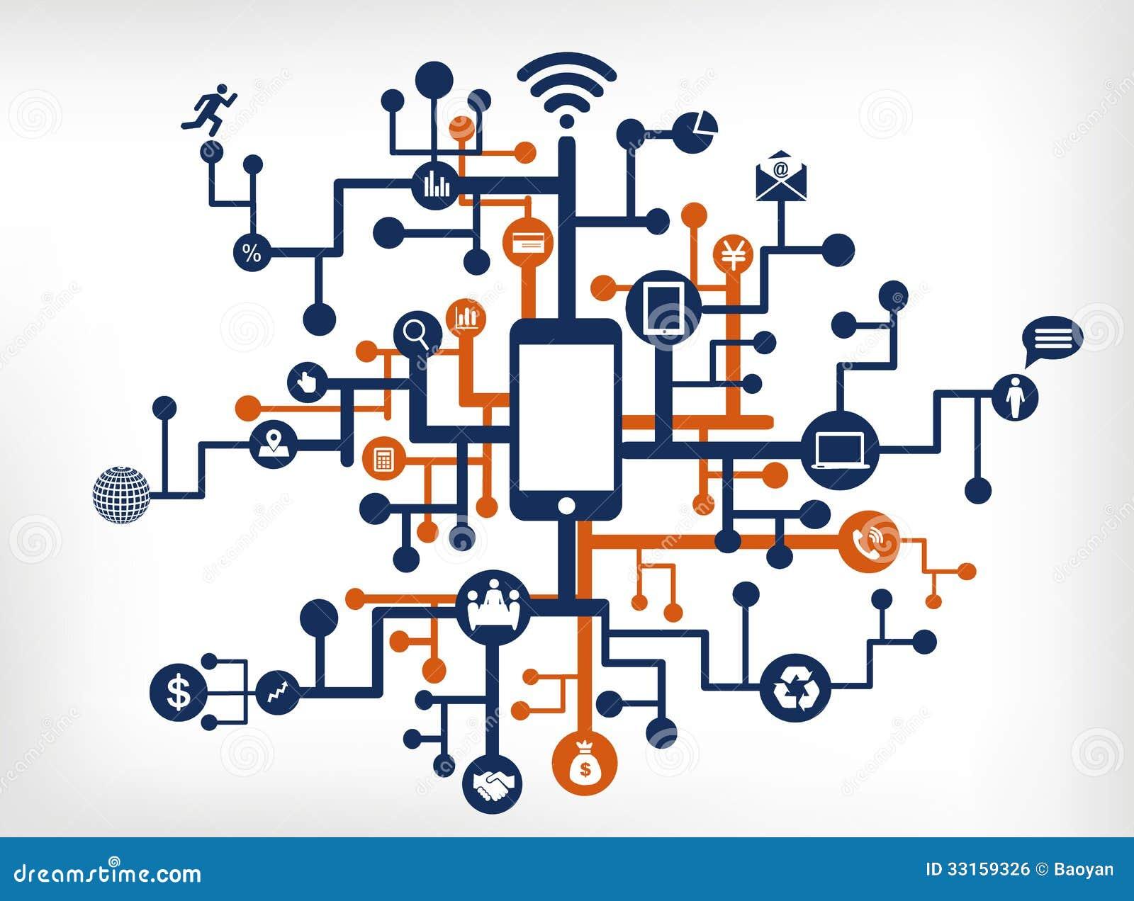 communication network royalty free stock image image