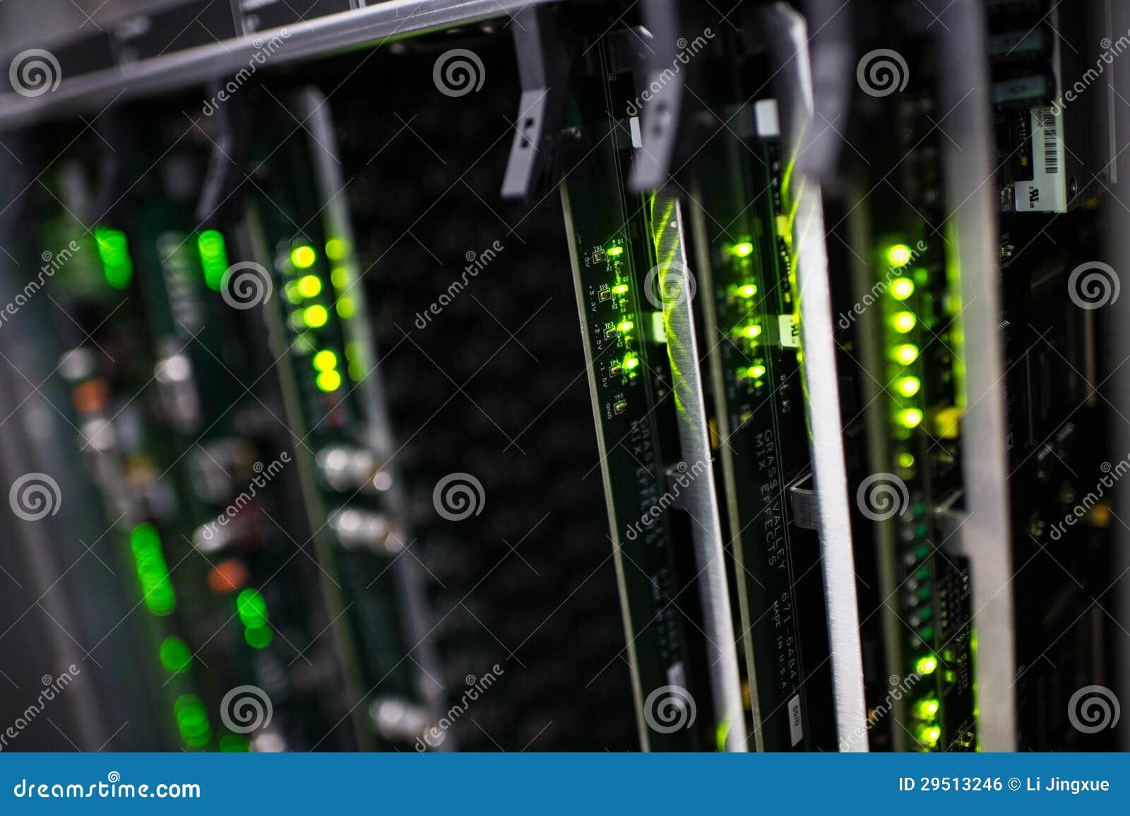 Communication racks
