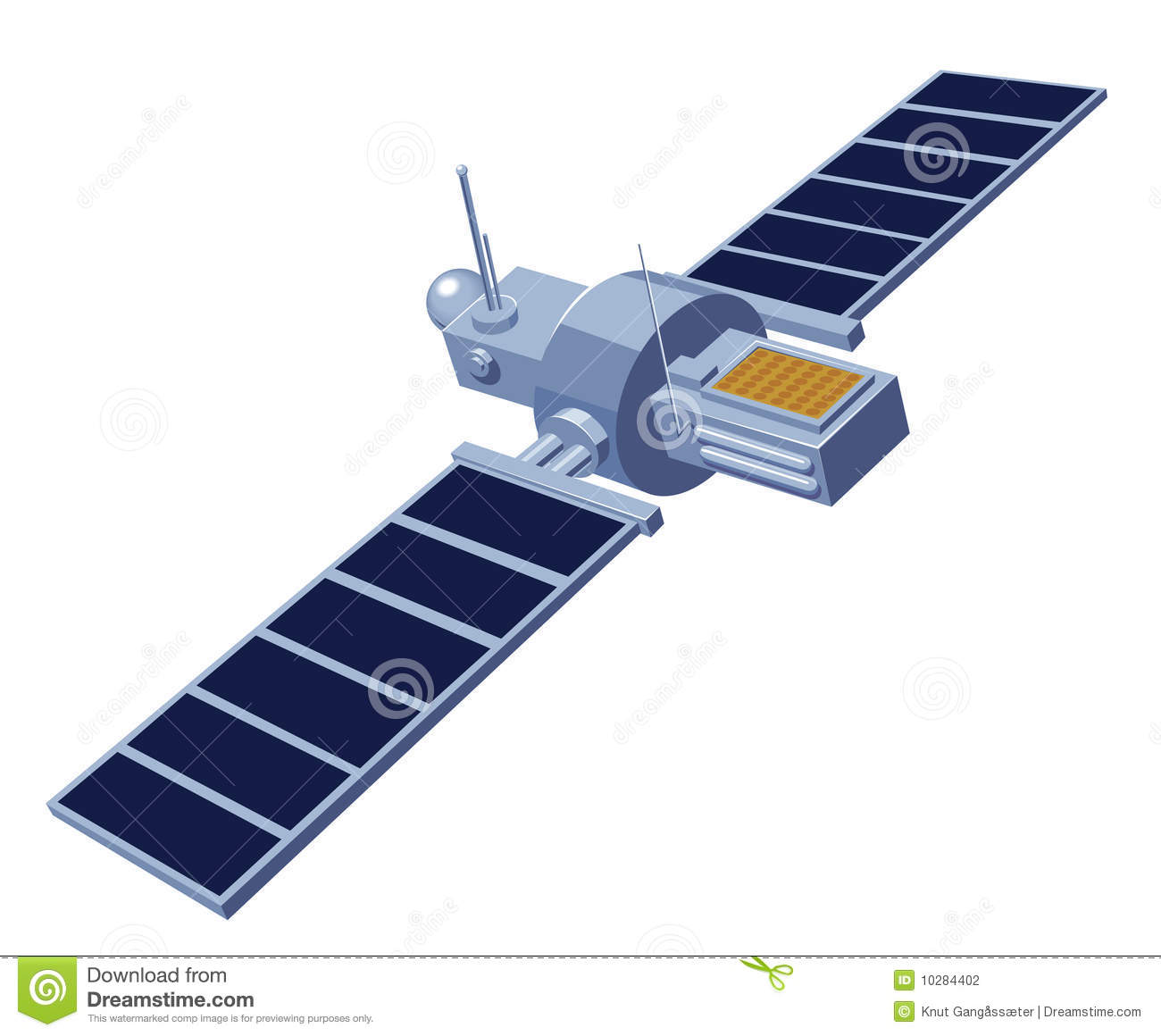 Communication Satellite Stock Photography - Image: 10284402
