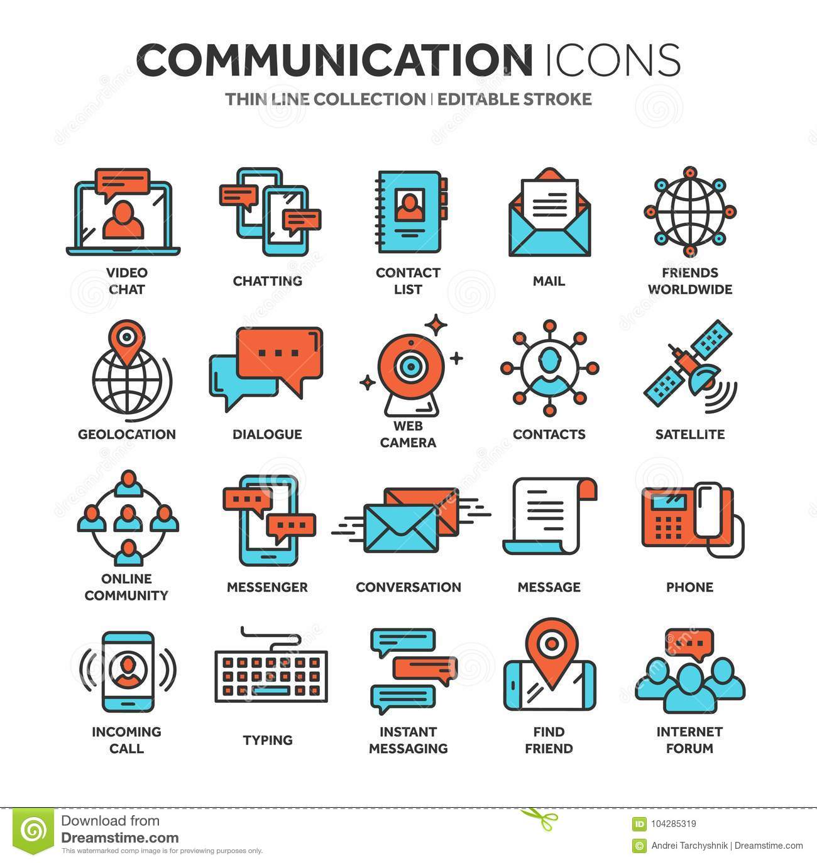 Communication  Social Media  Online Chatting  Phone Call, App
