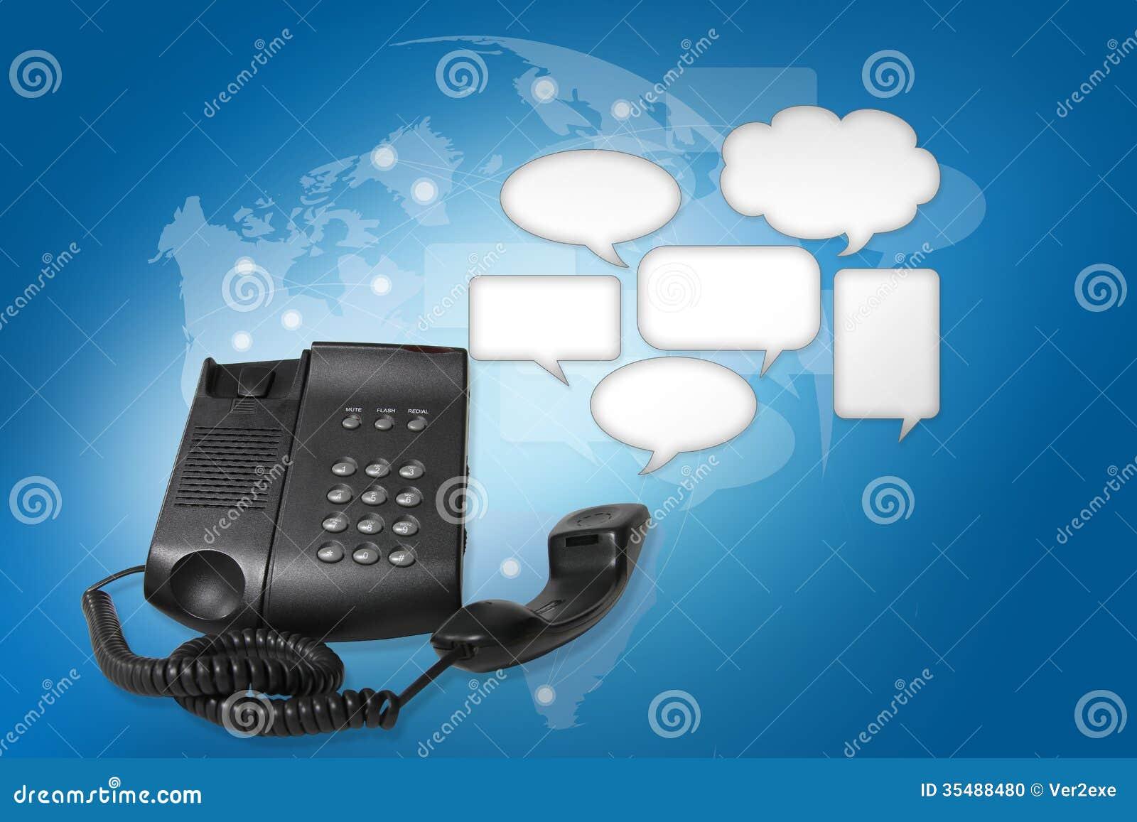 Talk On The Phone Clipart