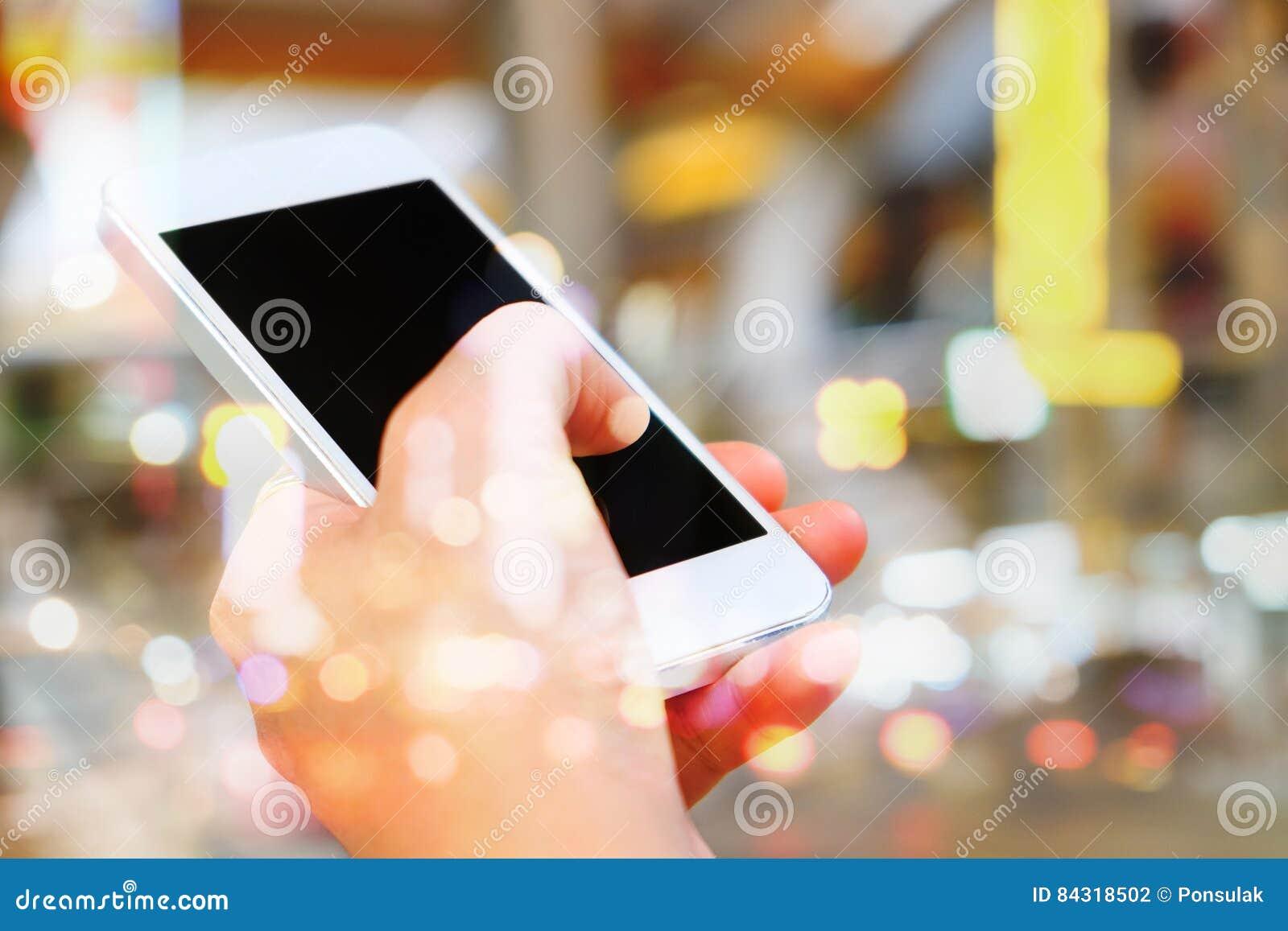Communication Technology Stock Photo. Image Of Holding