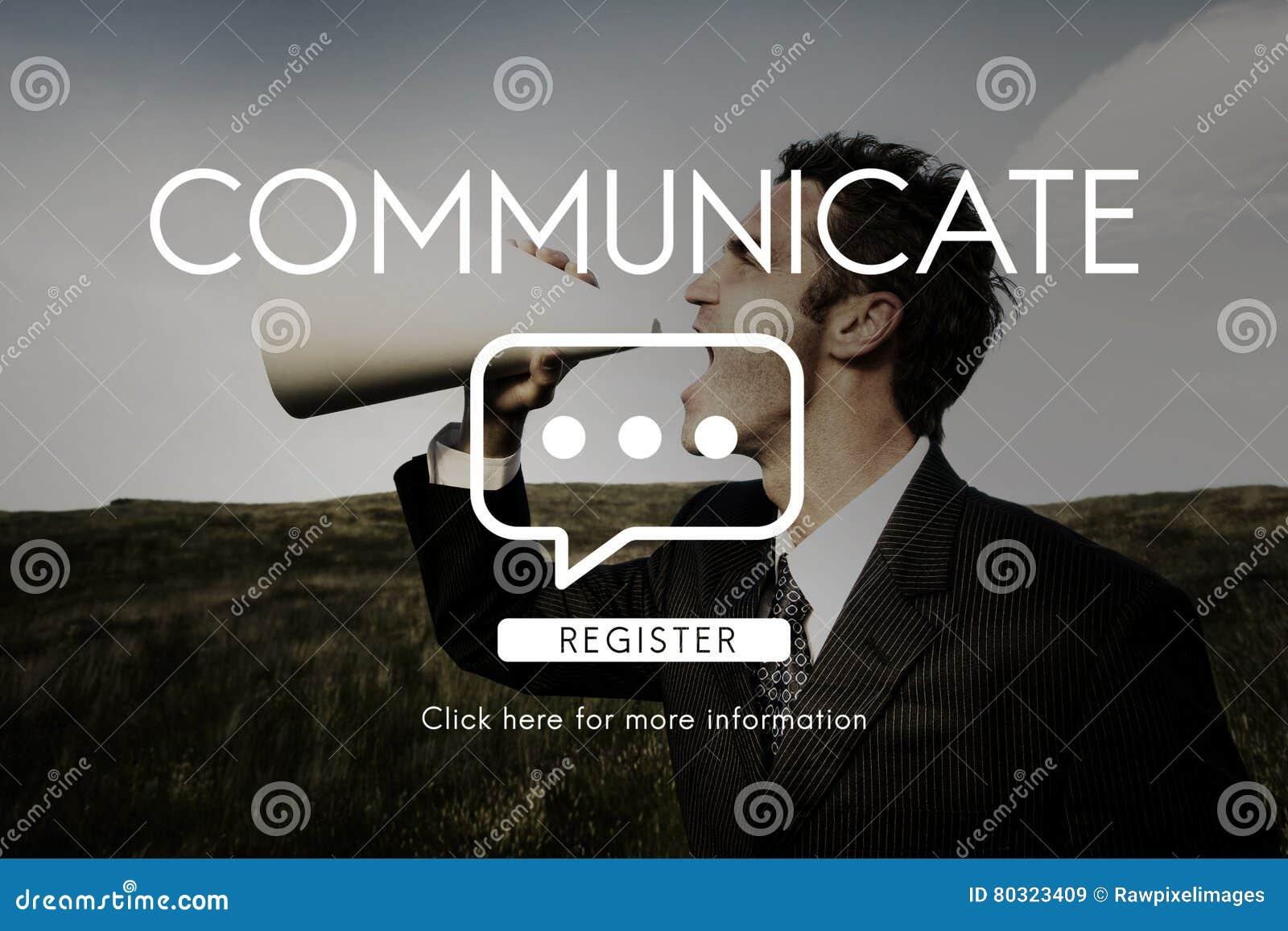 Communiquez la connexion de technologie de la parole