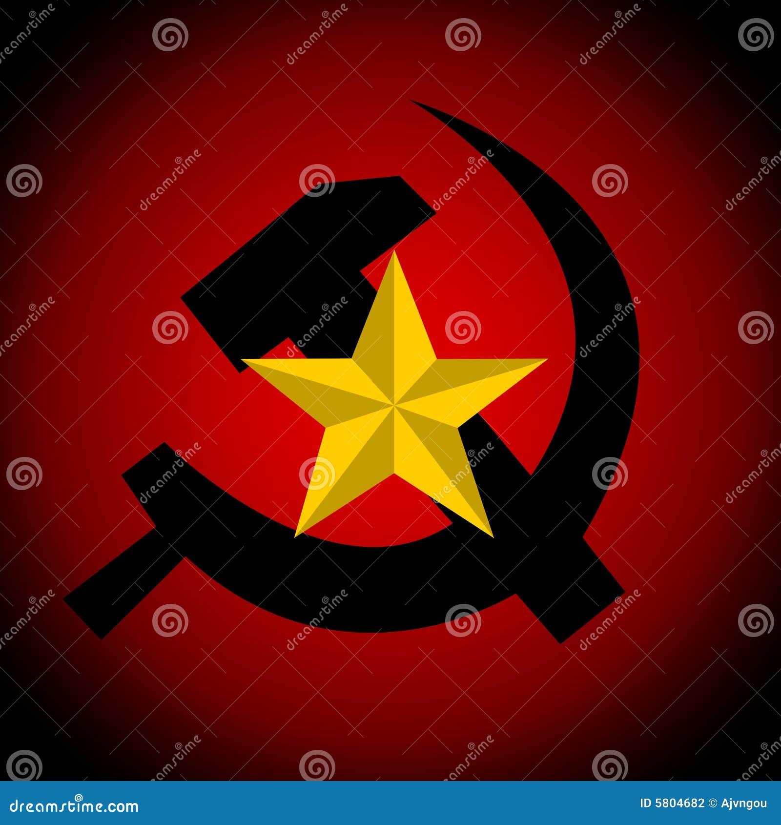 Communist Symbol Star Communism symbol Stock