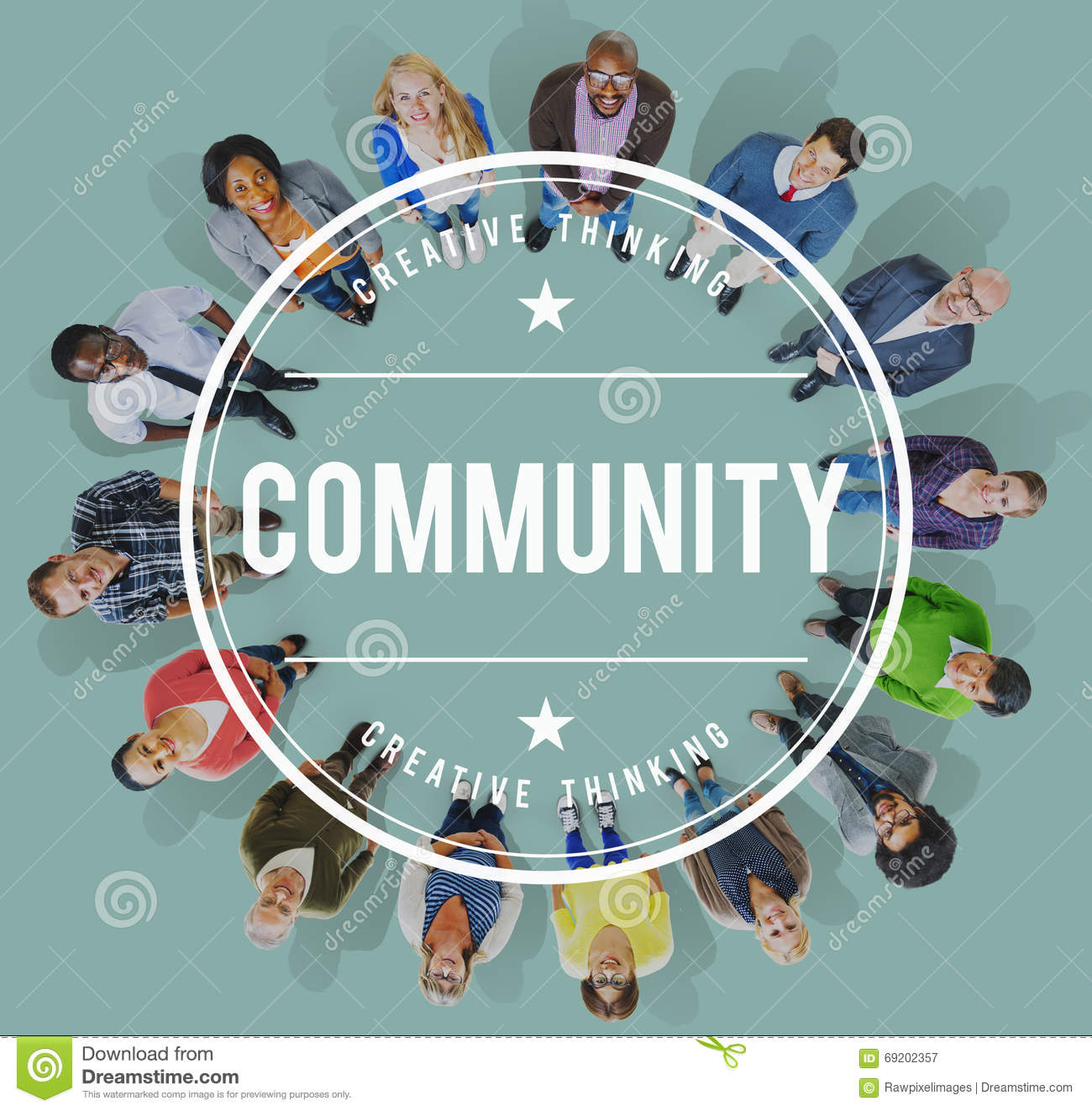 Community Diversity Society People Group Concept Stock Photo - Image ...
