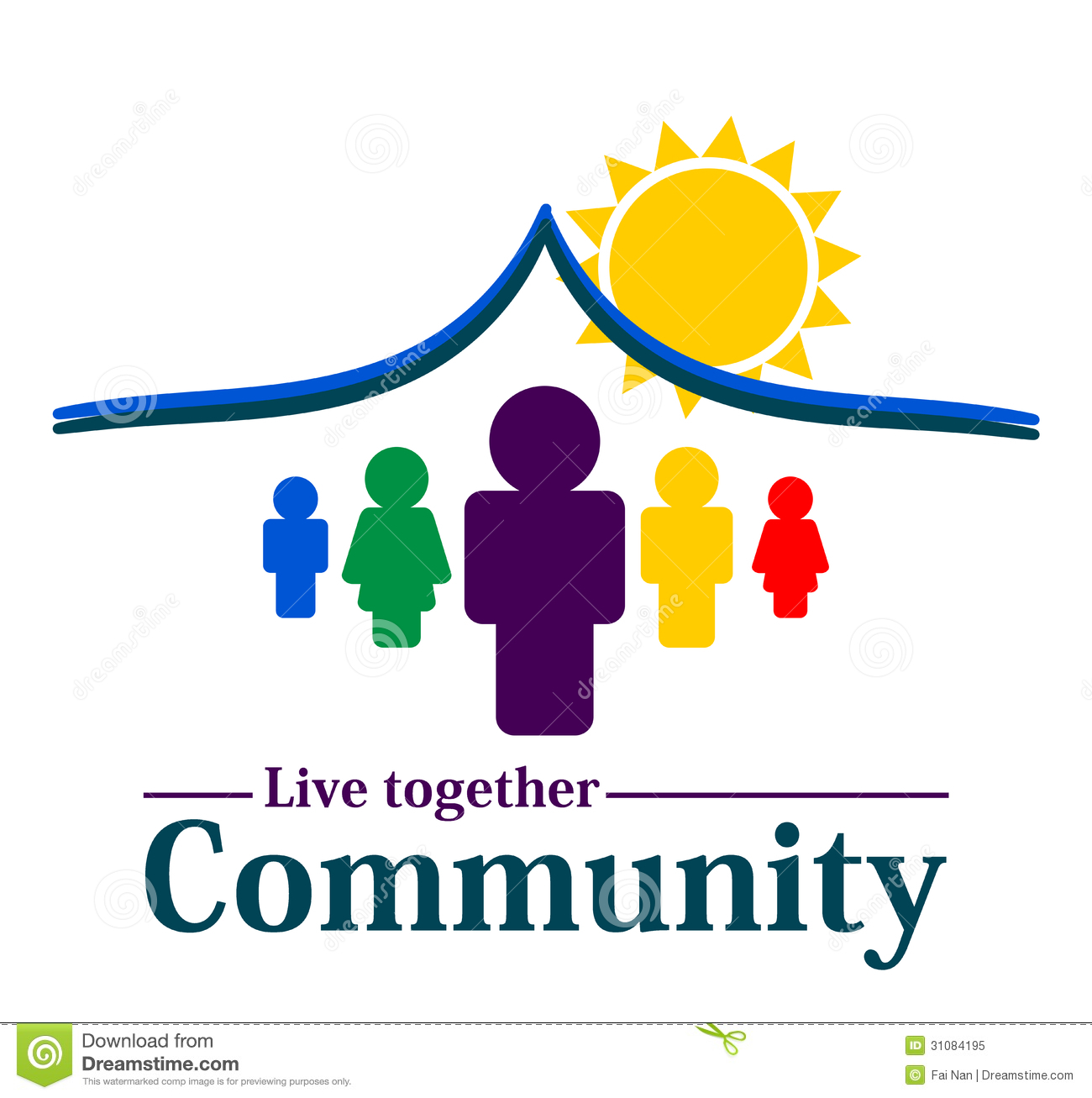 Community Together Concept Royalty Free Stock Photo - Image: 31084195