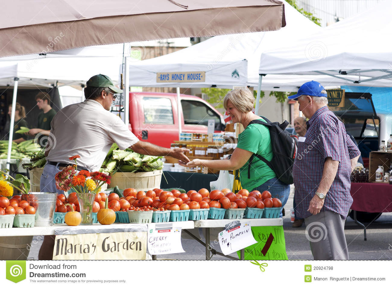Editorial Stock Photo: Community Farmers Market: www.dreamstime.com/royalty-free-stock-photos-community-farmers...
