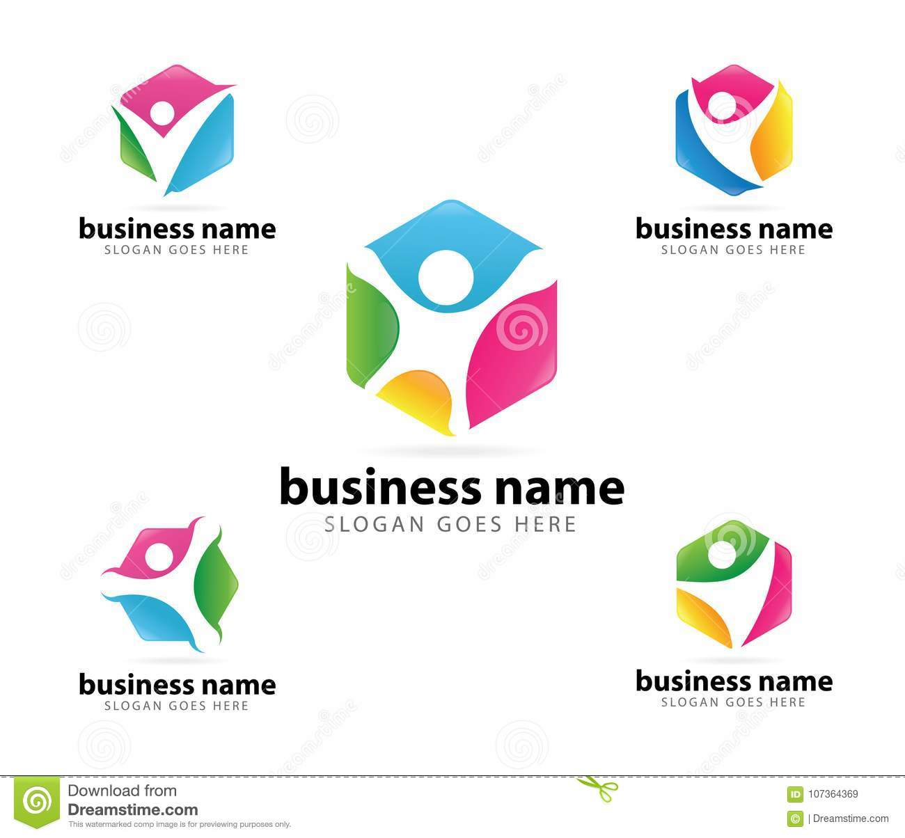 Achievement Logo community organization leader success achievement logo design stock