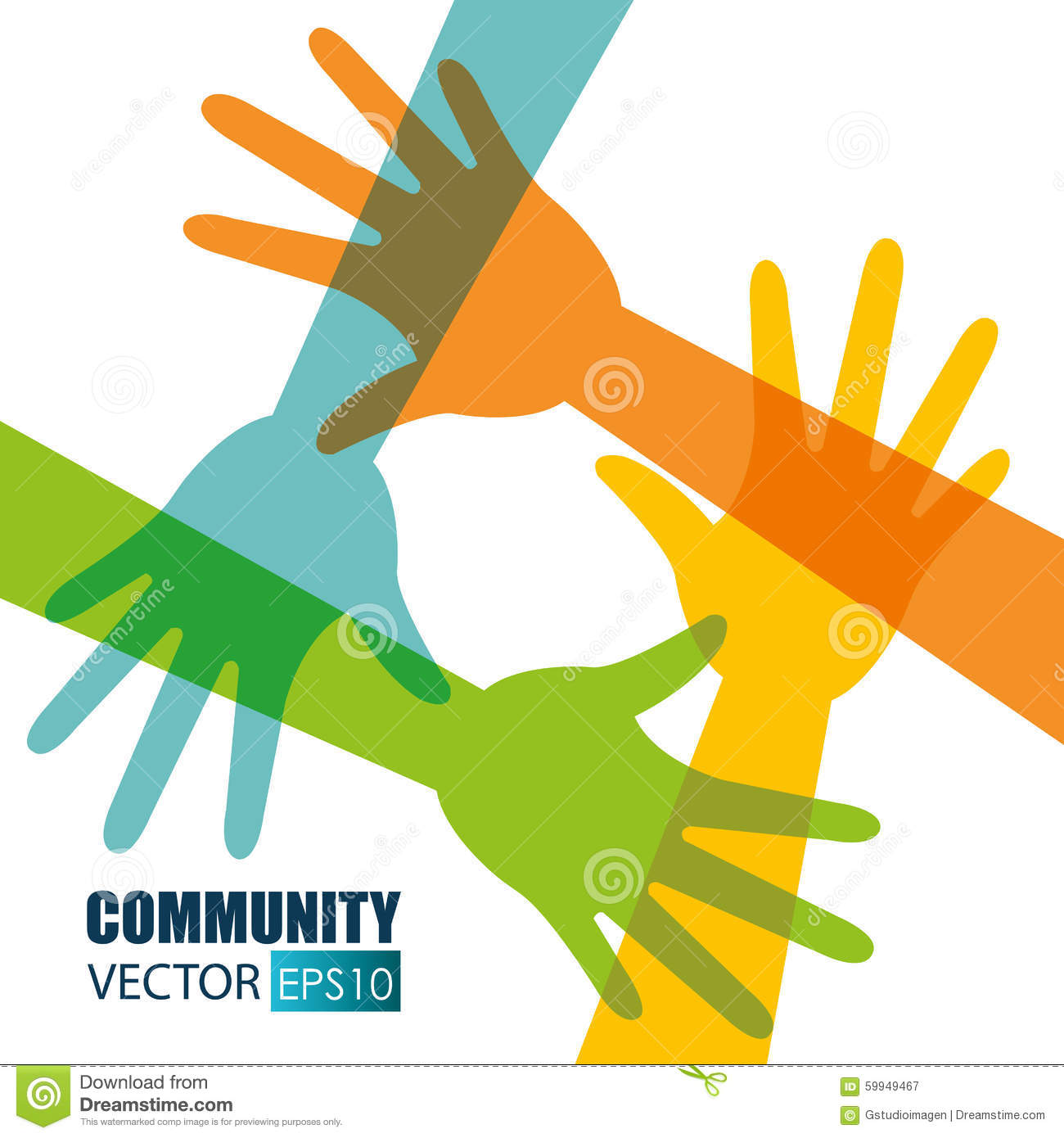 Community and social design, vector illustration eps 10.