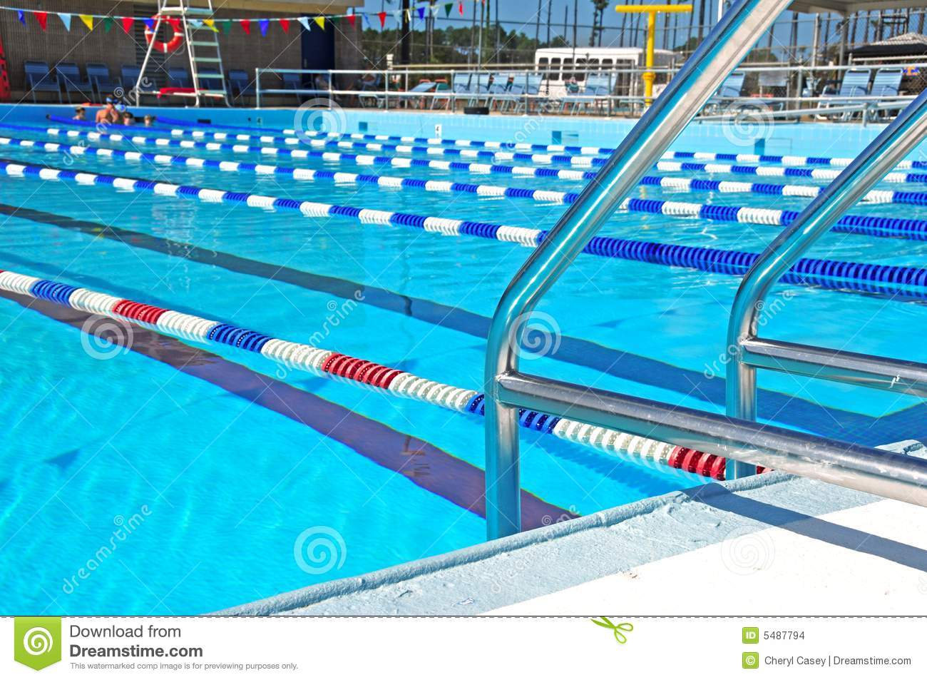 Community swimming pool royalty free stock image for Swimming pool dealers