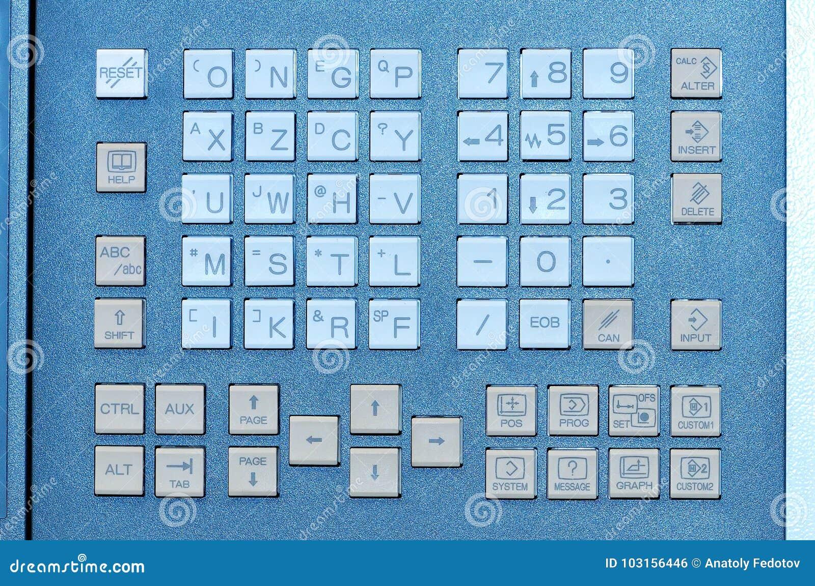 Commutatore del bottone della tastiera di industriale del pannello di controllo