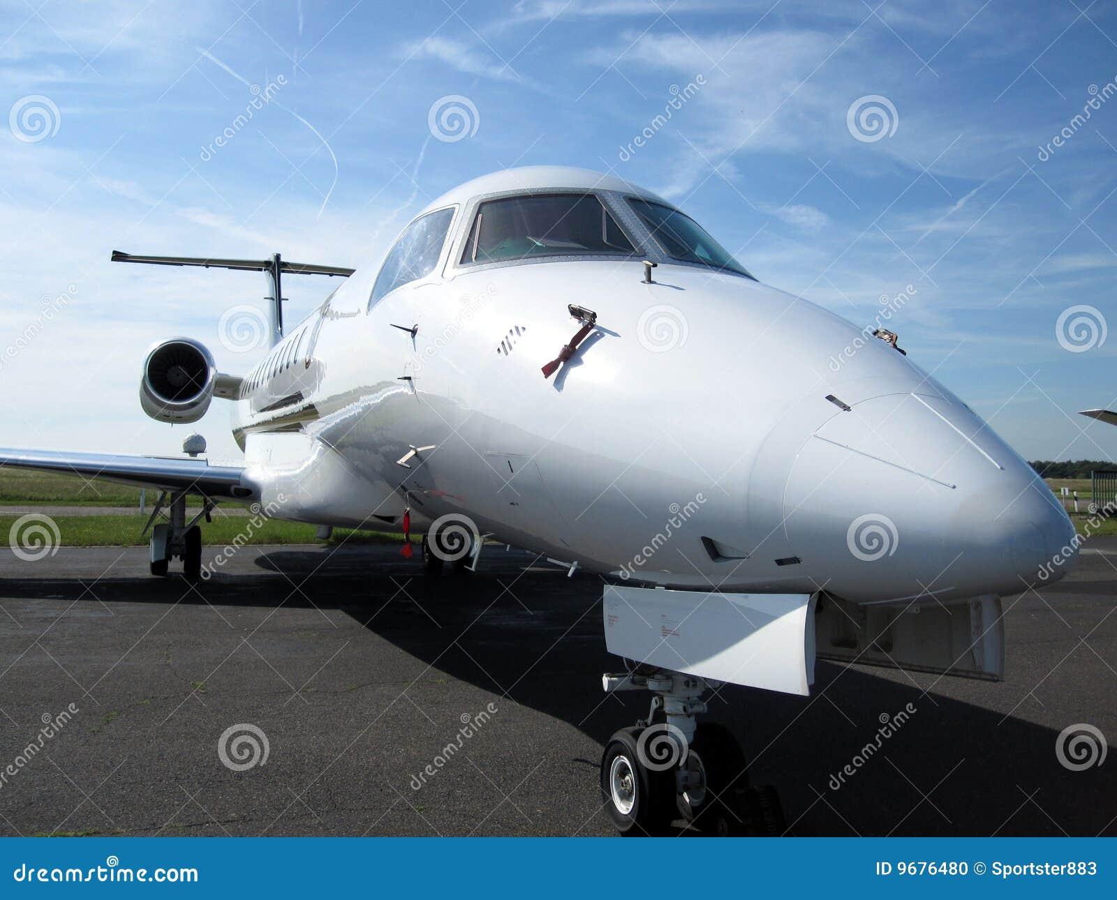 Commuter Aircraft Close Up