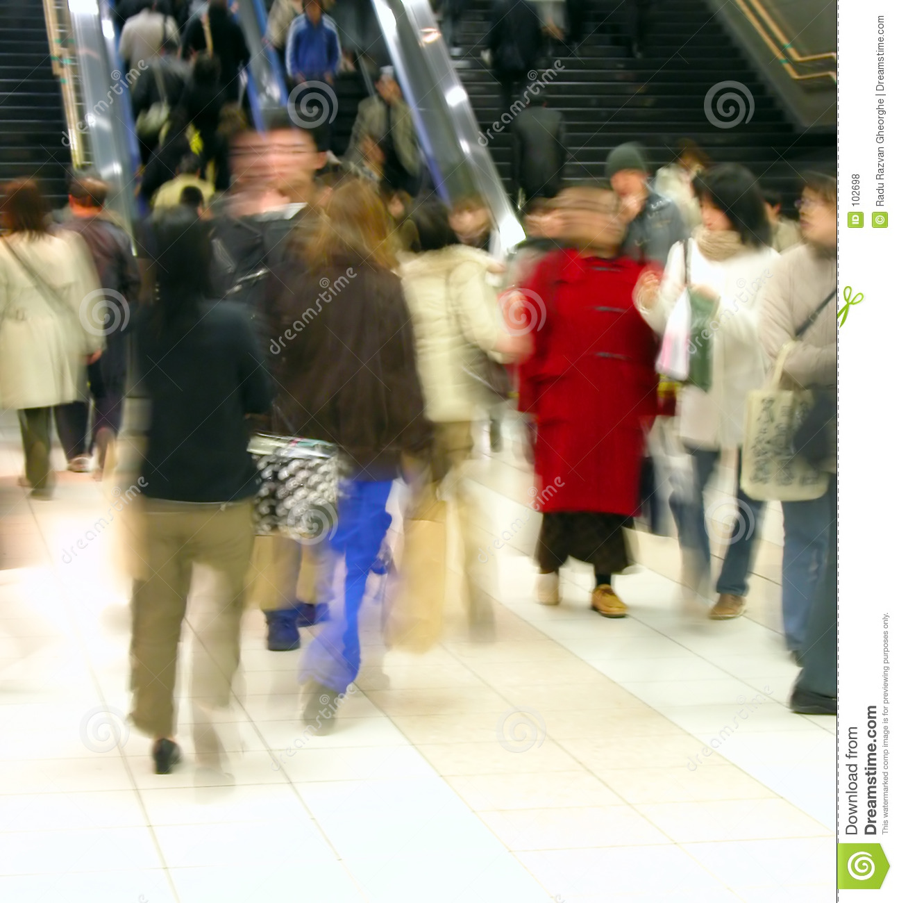 Download Commuter pass 1 stock photo. Image of crowd, people, train - 102698