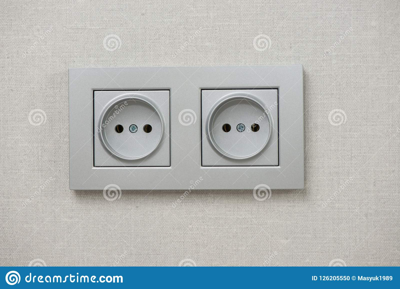 Commutez électrique Gril électrique commutateur en gros plan plan rapproché électrique
