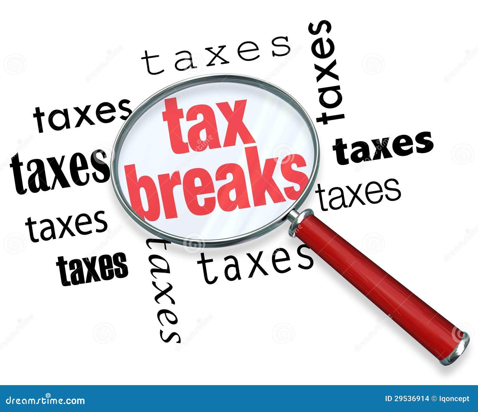 Como encontrar reduções de impostos - lupa
